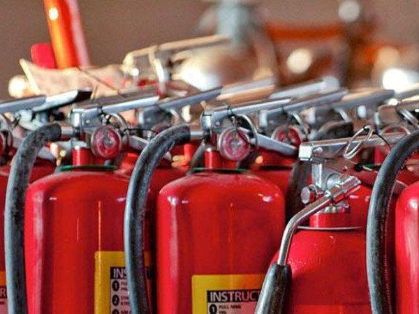Equipamentos para combate a incêndios