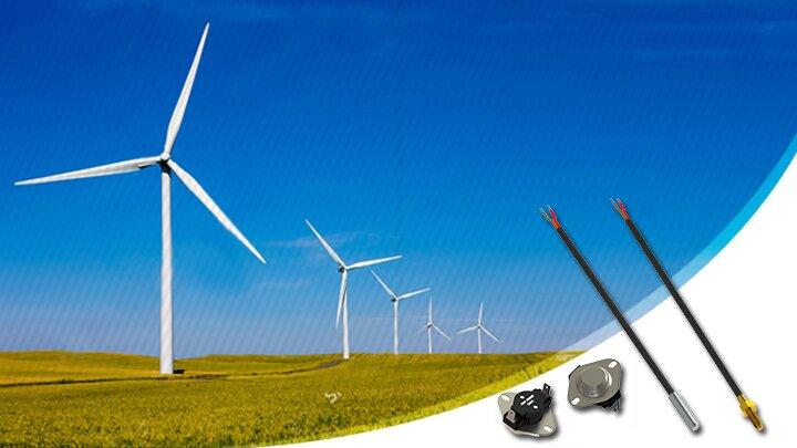 Sensores para energia Energia Eólica e Solar