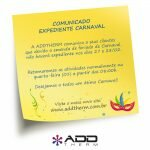 Comunicado Expediente Carnaval