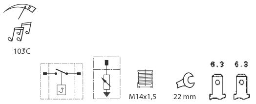 caracteristicas sensores de temperatura A30 080