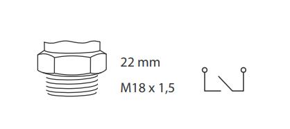 caracteristicas sensores automotivos para luz de re ford a15 055