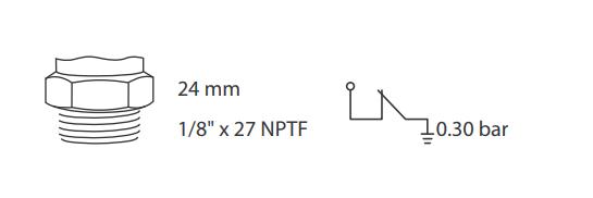 caracteristicas sensor pressao de oleo ford sp 060