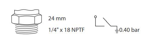 caracteristiocas sensor pressao de oleo sp 061 ford